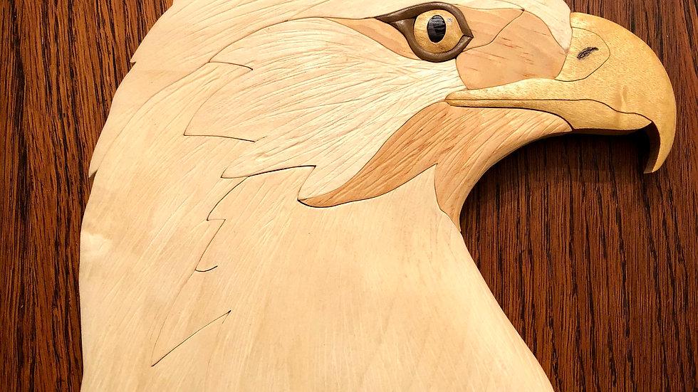 Eagle Head Wall Hanging