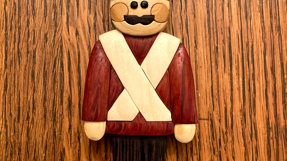 Holiday Toy Soldier Ornament