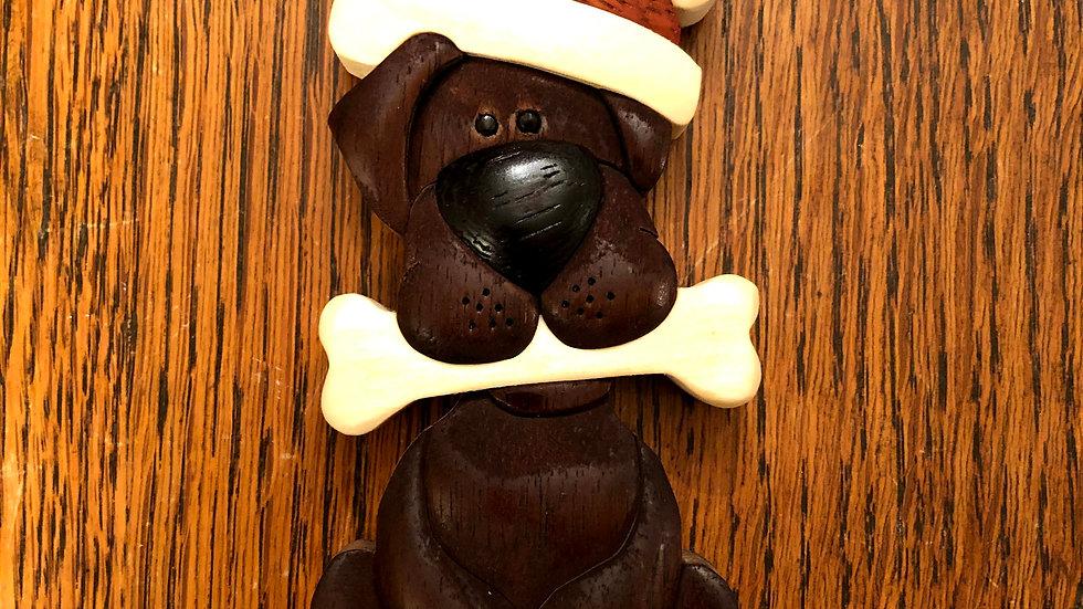 Chocolate Lab Ornament