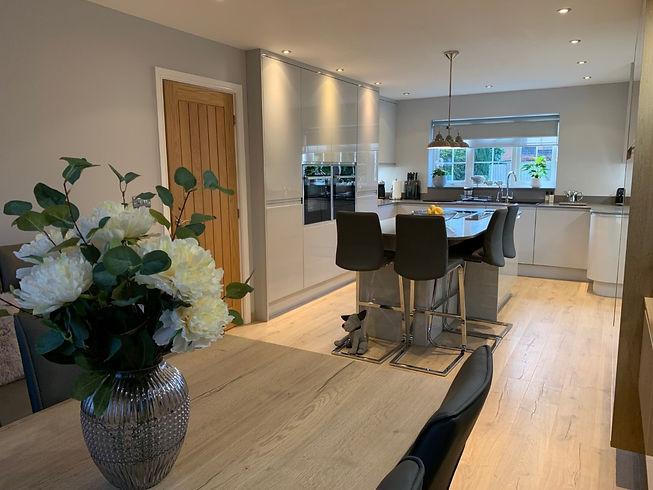 Clients Own Stunning Handleless Kitchen
