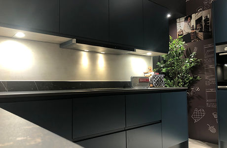 Modern Kitchen At Chesterfield Kitchen Showroom