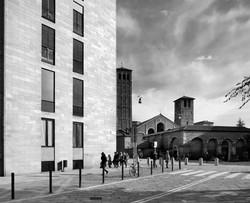 10_Luigi Caccia Dominioni, Casa in Piazza Sant'Ambrogio, 1947 - 1950 _resize