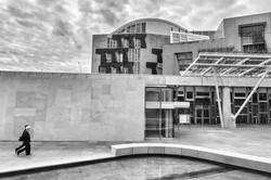The Scottish Parliament House