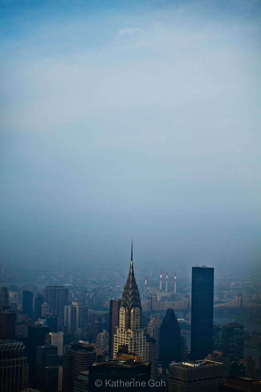 Chrysler in the Mist