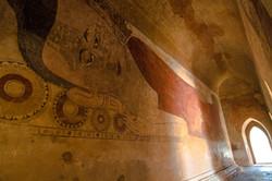 Wall Murals in Sulamani Temple