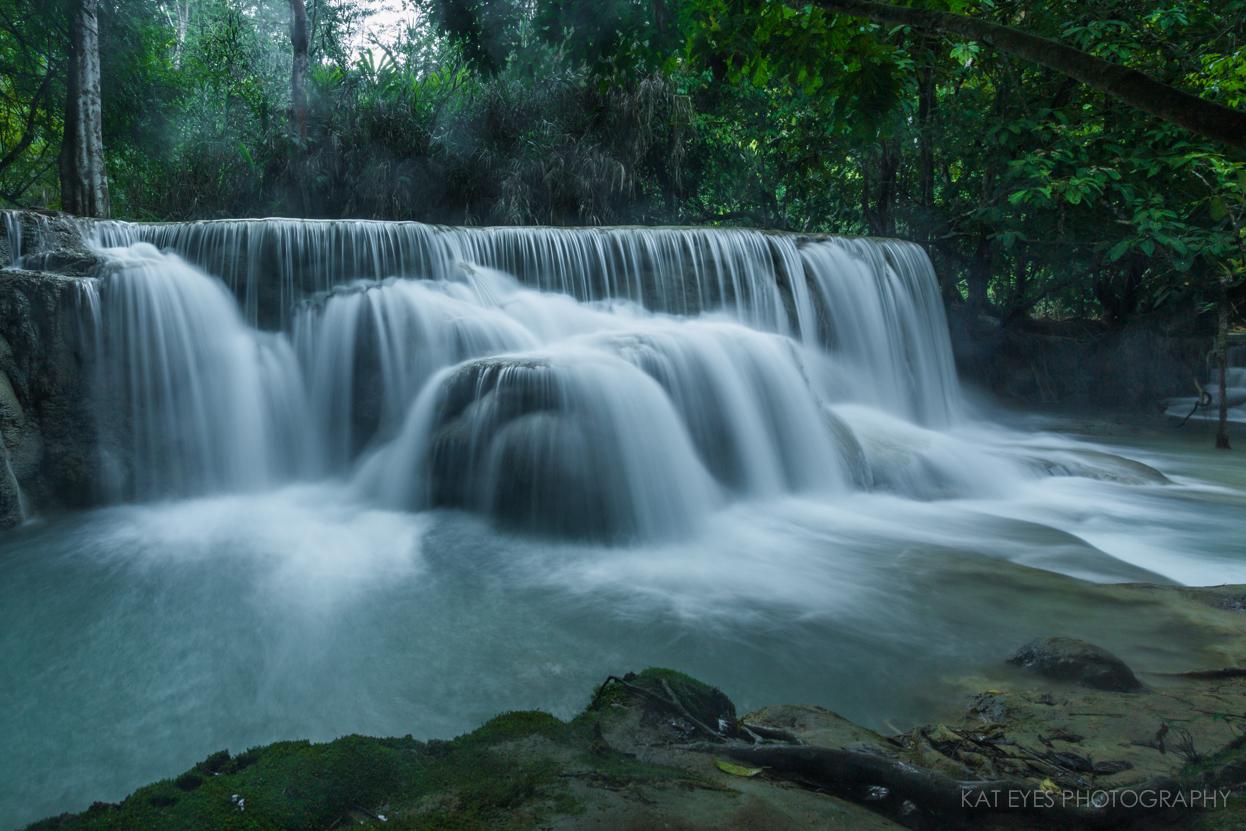 """Kuang Si Waterfall"""