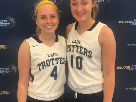 Lady Trotters take down Central KY Sparxz in close battle