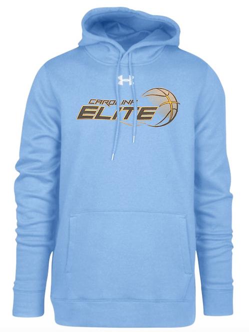 UA Carolina Elite Team Hoodie- Carolina Blue