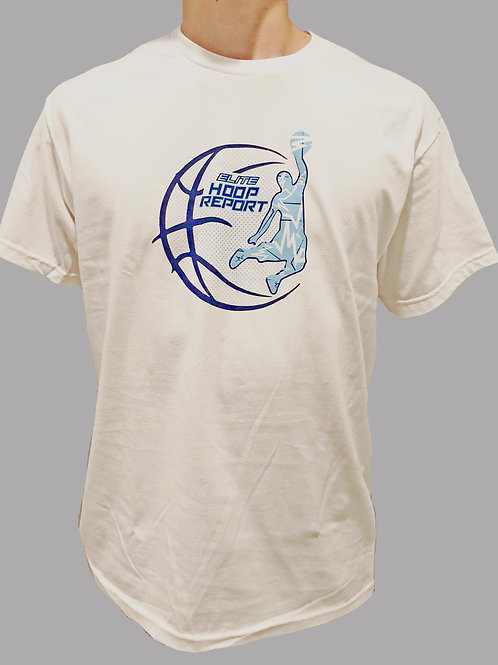 ELITE Hoop Report tee- white