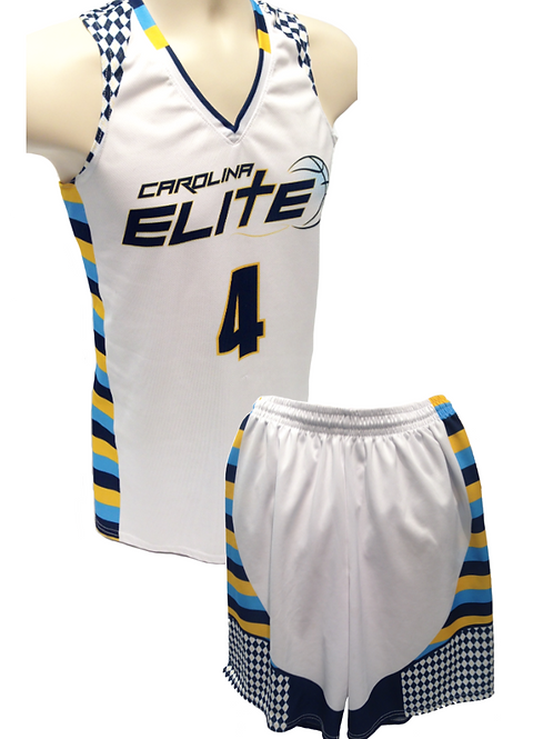 CE travel team showcase uniform - white
