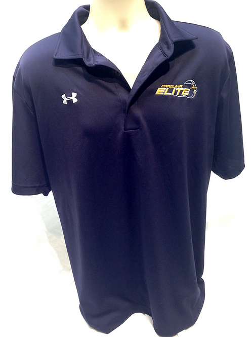 CE UA Coach's Polo - Navy Blue