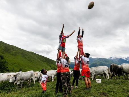 Dimanche rugby en estive ...