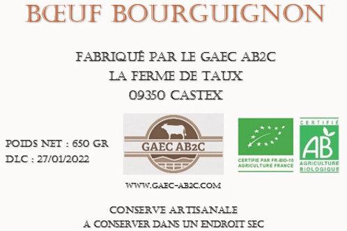 Boeuf Bourguignon - Plat Cuisiné en Conserve