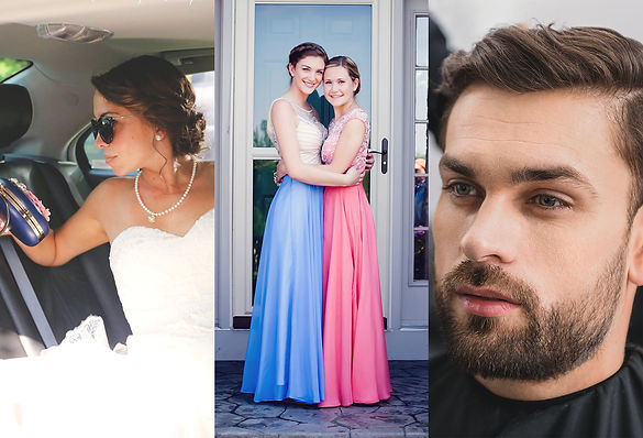 Wedding hair updos, mens haircuts, Childrens haircuts, Womens haircuts, Hair style