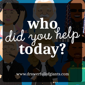Who Did You Help Today?