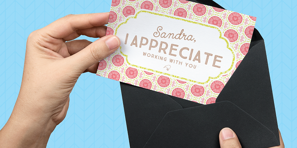 Personalised Greeting Card Subscription Box for Business