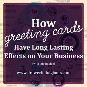 How Greeting Cards have long lasting effects in your business [with infographic]