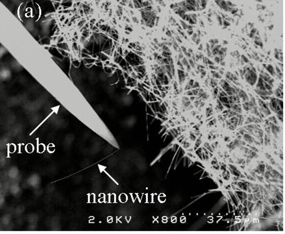 Nanowire isolation from a bundle