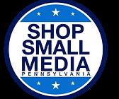 ShopSmallMedia Circle Badge Blue 1485×