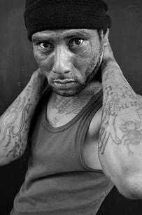 33 - IMG0033 - The Enforcer - Leonardo Fredericks ('Horingkies') from Elsie's River - Gang