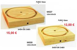 M027 = 15,00 € MO28 =  13,00 €