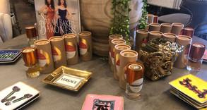 Kuhl-Linscomb: Perfumes & Versace on Display