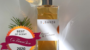 Flame & Fortune selected for Best of Scent 2020