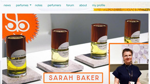 On Fragrantica! The Eclectic Microcosm: Sarah Baker Perfumes at ESXENCE-2019