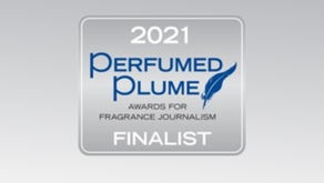 Neil Chapman up for Perfumed Plume Award: article feat. Flame & Fortune