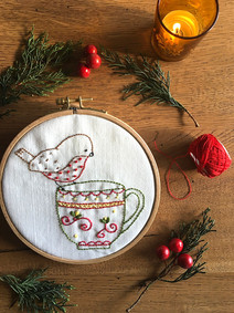 Tea Time Song - Embroidery Pattern
