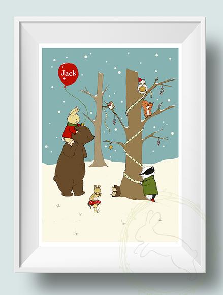 My Winter Wonderland - Personalised Print