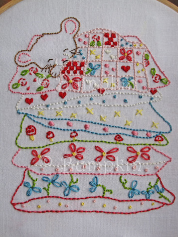 Sweet Dreams Embroidery Pattern