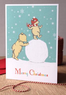 Snow Joy - Christmas Card