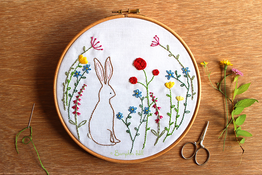 My Happy Place - Embroidery Pattern