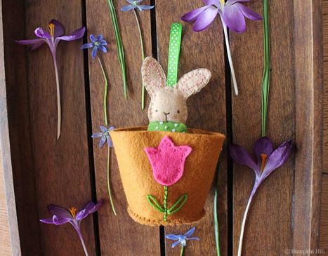 Flower Pot Friends - Pattern