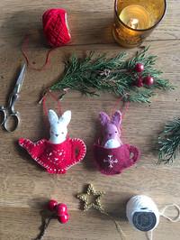 Friends for Tea - Ornament Pattern