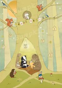 The Story Tree - Art Print