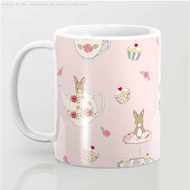 Friends for Tea - Mug from Society 6 Shop