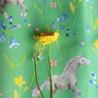 Through the Bluebells Fabric Design