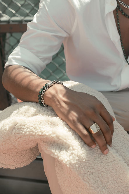Handmade Natural Beads Bracelet