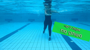 תרגיל מח בבריכה