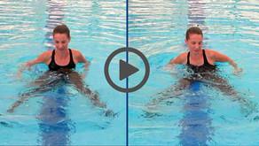 איך להגדיל טווחי תנועה באימון במים?
