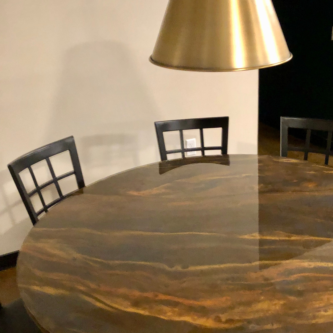 RESIN DINING TABLE 3