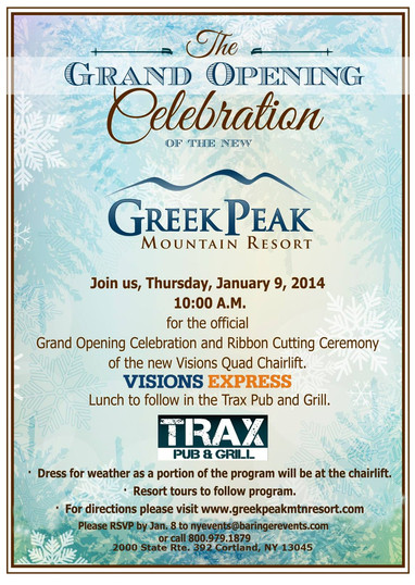 GREEK PEAK CELEBRATION