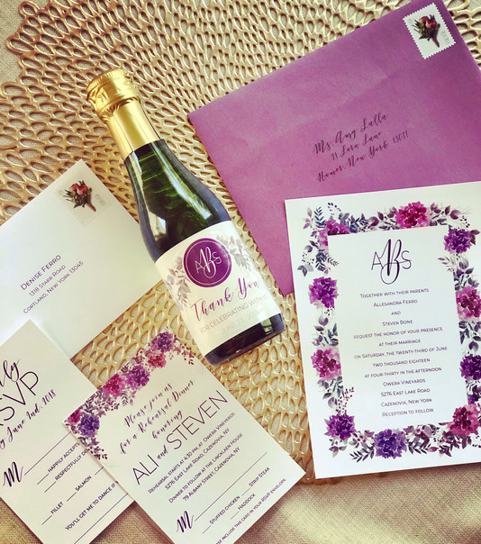 ABS WEDDING INVITAION SUITE
