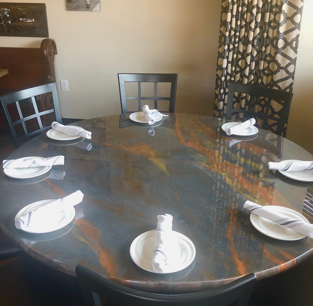 RESIN DINING TABLE 2