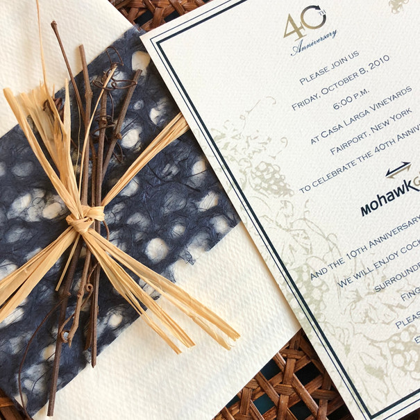 MOHAWK WINERY INVITATION