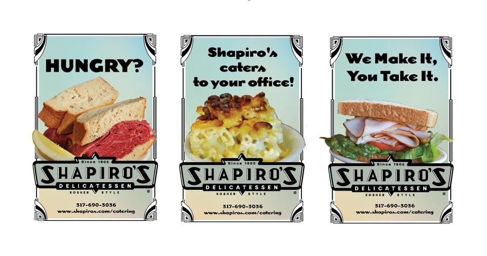 SHAPIRO'S WINDOW CLINGS