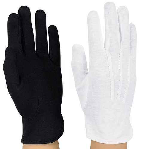 COTTON SHORT WRIST GLOVE