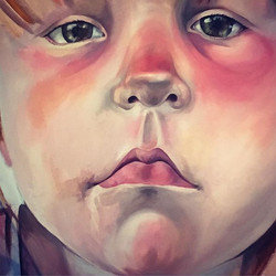 Love painting noses!! Still a long way t